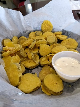‪‪Bonifay‬, فلوريدا: Fried pickles with ranch‬
