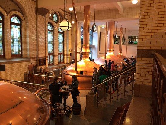 Heineken Experience: inside