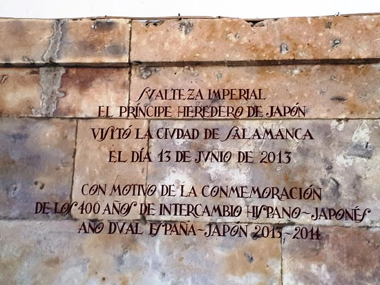 Plaza Mayor: Plaque commémorative