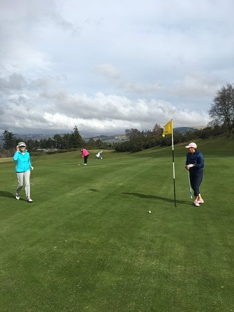 Auchterarder, UK: Such an idyllic setting for golf!