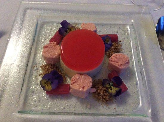 Blackaddie Country House Hotel: Divine dessert