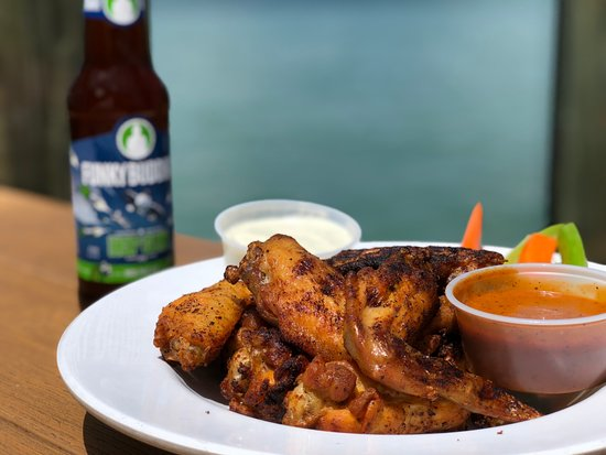 North Bay Village, FL: Shuckers' Special Grilled Wings, voted Best Chicken Wings by Miami New Times in 2017