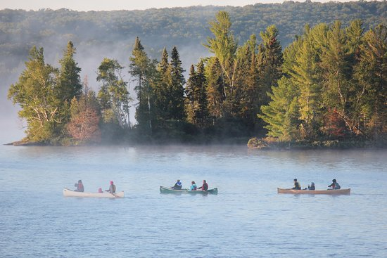 On a Canoe Trip  - Picture of Voyageur Quest, Algonquin