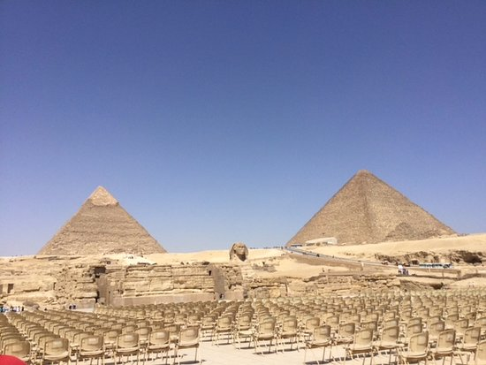 the sphinx and the pyramids in giza picture of ramasside tours