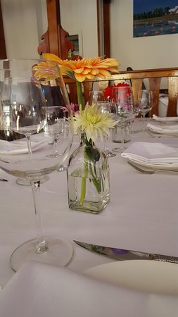 Buddha Castle Restaurant Table Setup