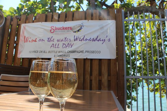 North Bay Village, FL: Wine on the Water Wednesdays features 1/2 off on all wine and champagne bottles