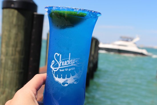 North Bay Village, FL: Cheers to the views and great drinks. Join us for Happy Hour Mon - Friday, 5 to 7 p.m.