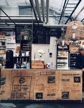 Bollnas, Sweden: Här serveras gott kaffe!