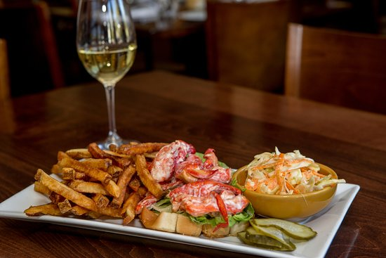 Jo's American Bistro : Our delicious lobster salad roll!