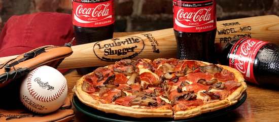 Johnstown, OH: Pepperoni and mushroom pizza