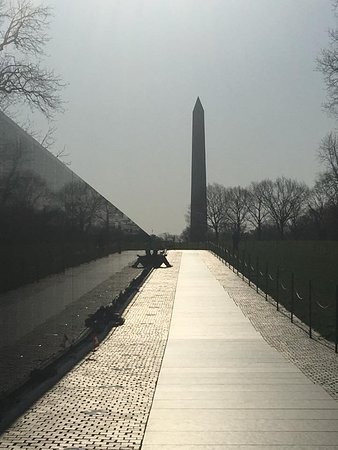 Vietnam Veterans Memorial: My view.