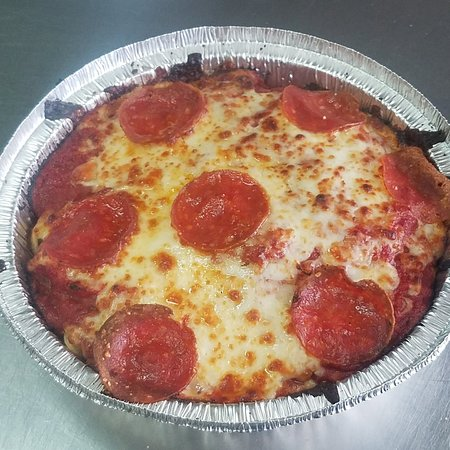 Brick Oven Pizza Rockport: Spaghetti Pizza Bake