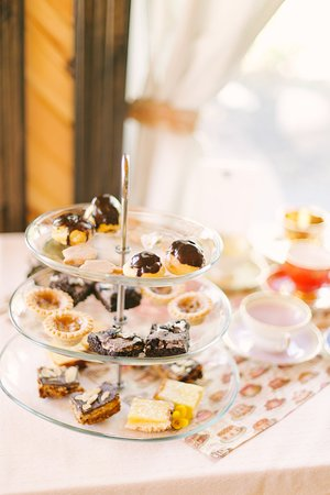 A selection of Tyne Valley Tea and Company Cafe Fancy Afternoon Tea desserts
