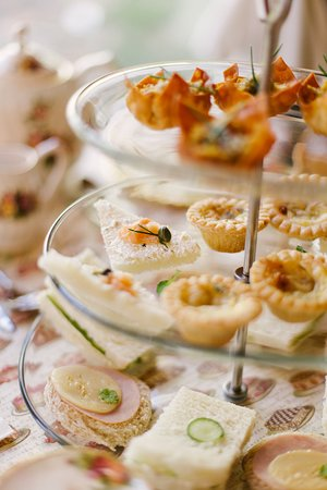 Tyne Valley, Canada: Fancy Afternoon Tea savouries
