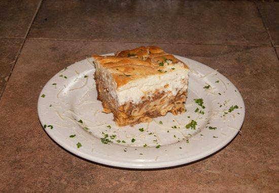 Mama S Greek Cuisine Passio Lasagna