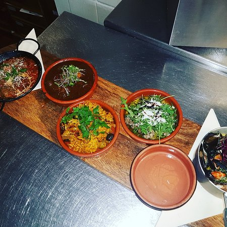 Cheadle, UK: Some tapas from this evening yummy