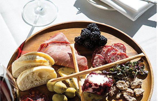 Pikesville, MD: Charcuterie to share at Citron is a delightful way to relax and savor wine and conversation.