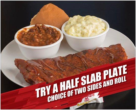 Killen, AL: Try a half slab rib plate