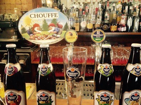 Paderno d'Adda, Italy: Birre alla spina: Augustiner - La Chouffe - Chouffe Soleil