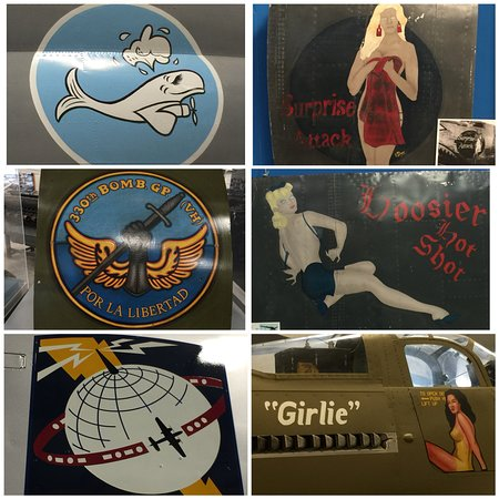 Pima Air & Space Museum : I loved the Aircraft graphics