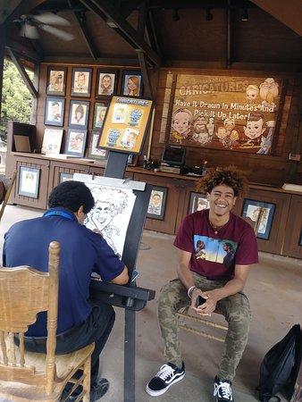 Buena Park, كاليفورنيا: Caricature Artists