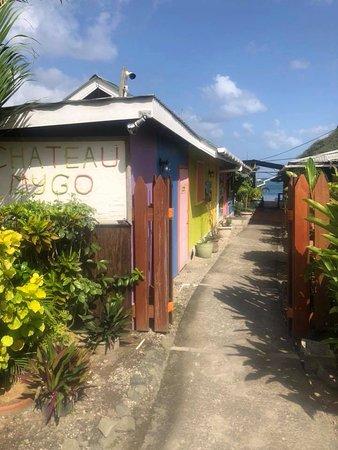 Marigot Bay, St. Lucia: Entrance