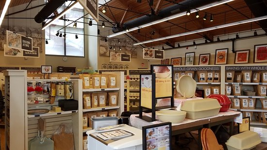 King Arthur Flour: Bakery, Cafe, School, and Store: Showroom for flour and baking goodies.