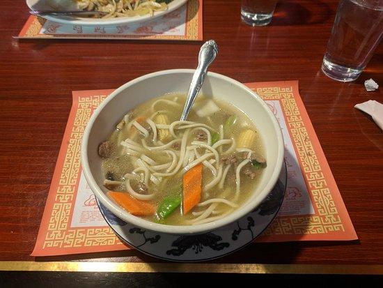 American Fork, UT: Beef noodle soup