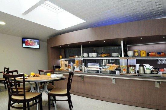 Saint-Brice-Courcelles, Frankrike: Restaurant