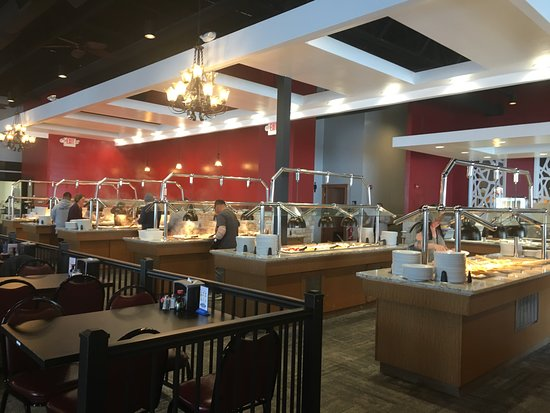 Franklin, WI: Lovers Lane Buffet tables