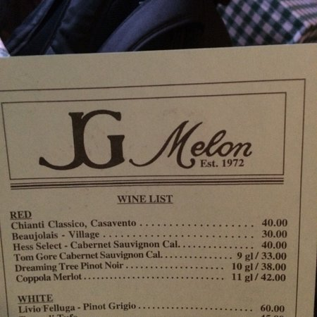 photo4 jpg - Picture of JG Melon, New York City - TripAdvisor