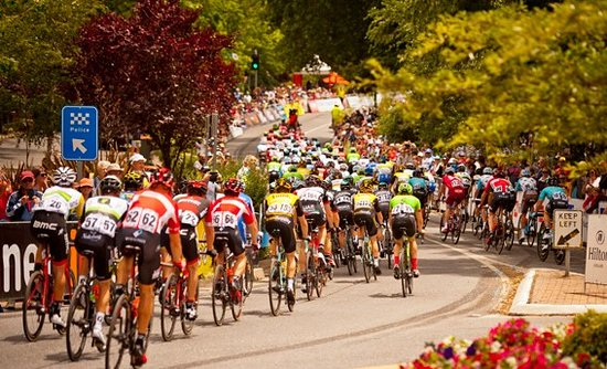 Stirling, Australia: Santos Tour Down Under Cycling, January