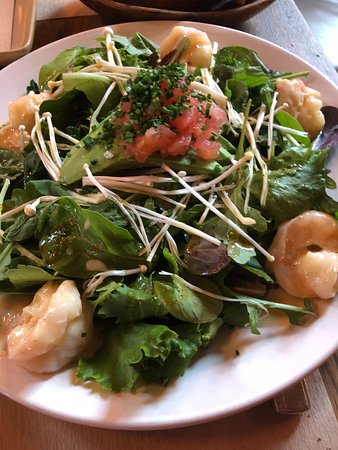 Pound Ridge, NY: The flavorful shrimp salad