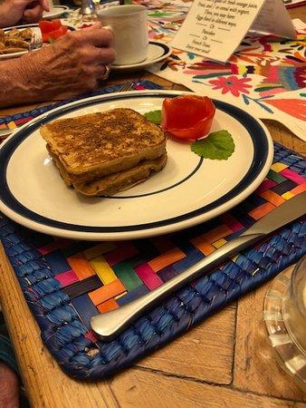 Casa Calderoni Bed and Breakfast: fantastic French toast