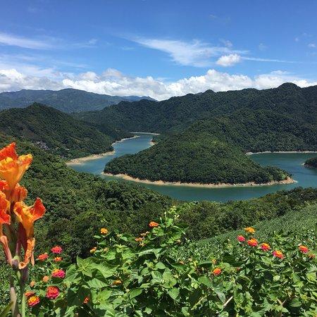 Shiding, ซินเป่ย: 石碇土虱頭,翡翠水庫保護園區!景色優美,歡迎大家來此地遊玩喔!