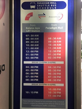 Map Of Asia Jaya Lrt Station.Time Table Of Shuttle To Kelana Jaya Lrt Station Picture Of New