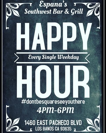 Los Banos, Californien: Happy Hour