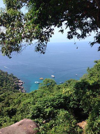Koh Tao, Thailand: Another photo of the view