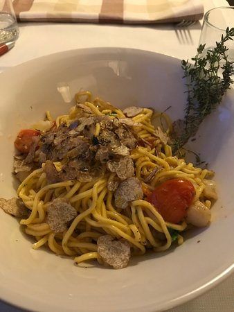 Pasta With Onkfish And Truffle Picture Of Terrazza 45