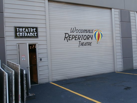 Exterior of the Woodinville Repertory Theatre