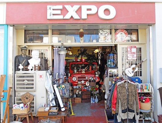 Expo: 店舗の正面