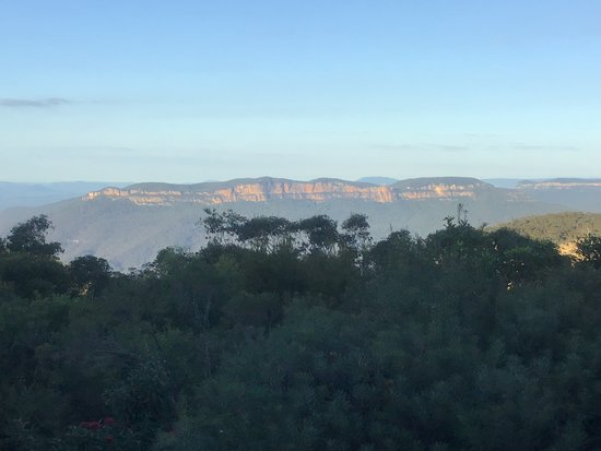 Wentworth Falls, Australien: View from the balcony