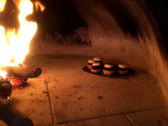 Santiago-Pontones, Spania: Nuestro horno de leña