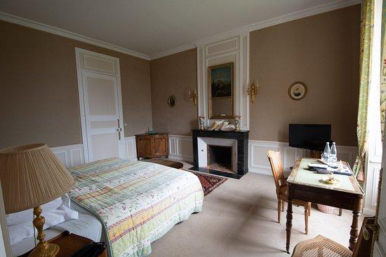 Chateau de Locguenole - Hotel: Das Schlafzimmer