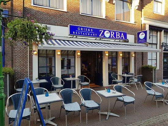 Zorba de Griek: heerlijk genieten op ons terras