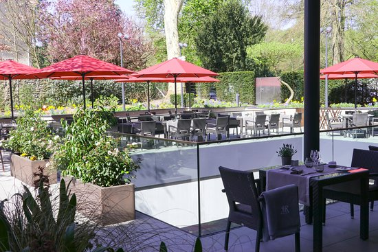 Terrasse Picture Of Restaurant Amelys Luxembourg City