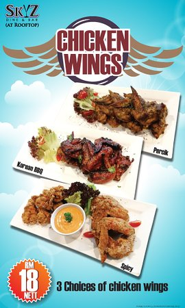 Best Western Petaling Jaya: Fly from the SkyZ. Available at SkyZ Dine & Bar from 4pm to 11pm.