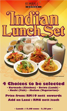 Best Western Petaling Jaya: Indian Lunch Set. All time favorite. Available at Kembali Kitchen, Level 6 from 12.30pm until 2.