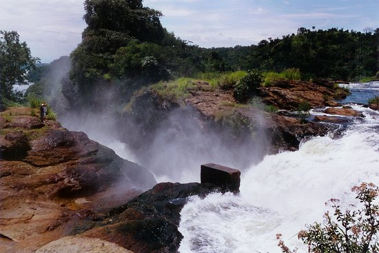 Kabale, Uganda: Views of the world's strongest murchison falls in Uganda