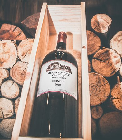 Brighton, ออสเตรเลีย: Selection from Mount Mary Vineyard on the wine list
